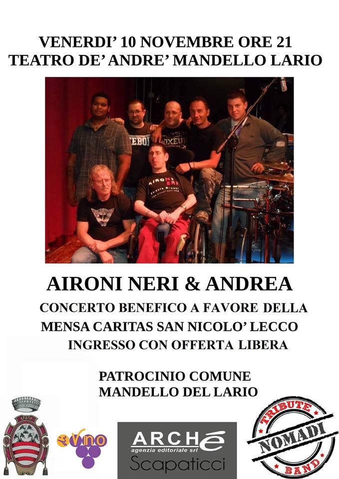 Calendario Concerti Nomadi.Tributo Nomadi Visit Mandello