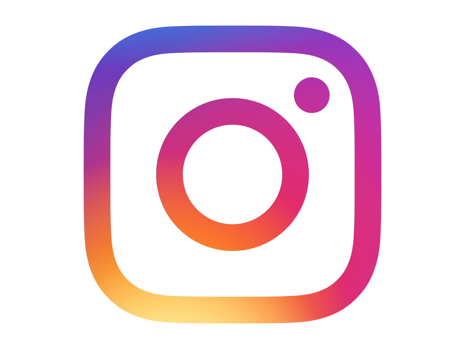 instagram logo gradient transparent